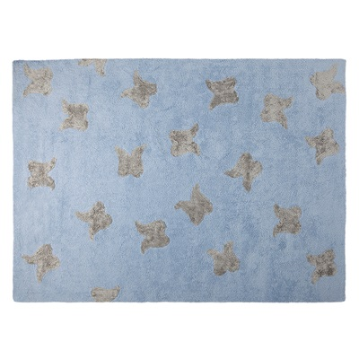 KIDS WASHABLE RUG in Wings Design