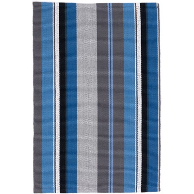 INDOOR RUG in Midnight Stripe