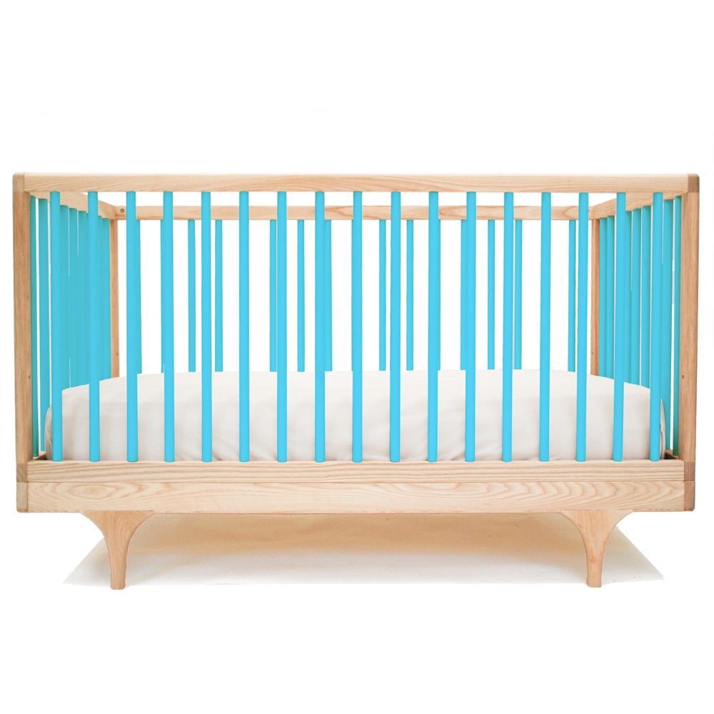 Baby Caravan Cot Amp Toddler Bed In Blue