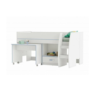 SWITCH MID SLEEPER KIDS CABIN BED