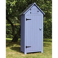 BEACH HUT TOOL SHED in Blue