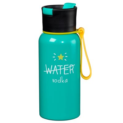WATER / VODKA BOTTLE in Green from Happy Jackson
