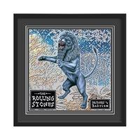 THE ROLLING STONES FRAMED ALBUM WALL ART in Bridges Of Babylon Print  Large