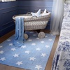 Blue Rug in Baby Boys Nursery