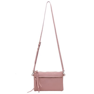 PHONE CHARGING MIGHTY PURSE LUXE X-BODY in Blush