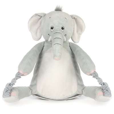 ELEPHANT Kids Animal Rucksack, Blanket & Cuddly Toy