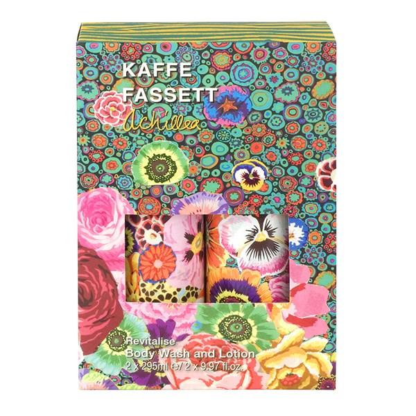 Kaffe Fassett Achillea Body Wash and Body Lotion