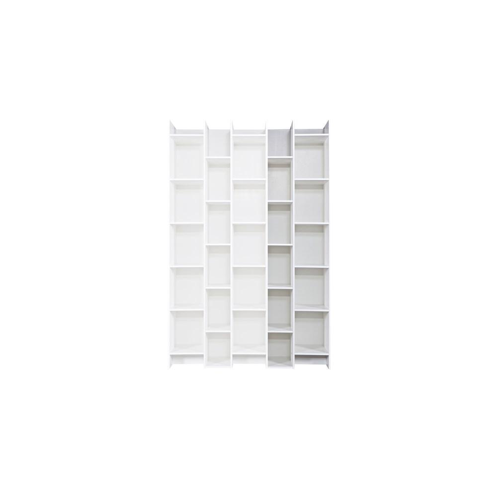 Contemporary White Bookcases