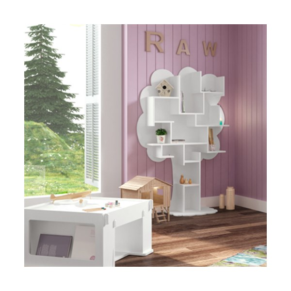 Louane Kids Small Tree Bookcase by Mathy By Bols