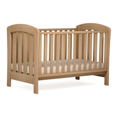 SUNSHINE BABY COT & TODDLER BED in Almond