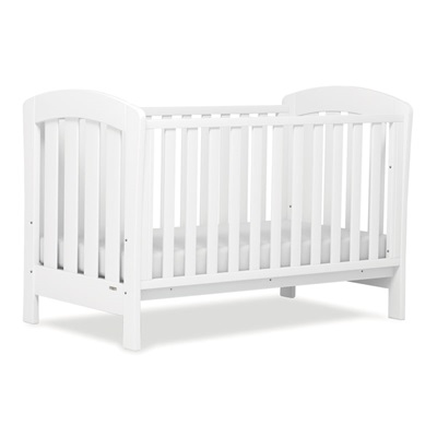 SUNSHINE BABY COT & TODDLER BED in White