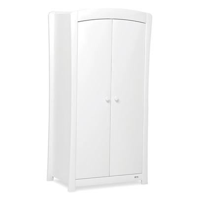SUNSHINE 2 DOOR NURSERY WARDROBE in White
