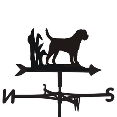 Weathervane in Border Terrier Dog Design
