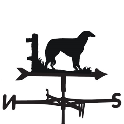 WEATHERVANE in Borzoi Dog Design