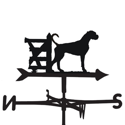WEATHERVANE in Boxer Dog Design