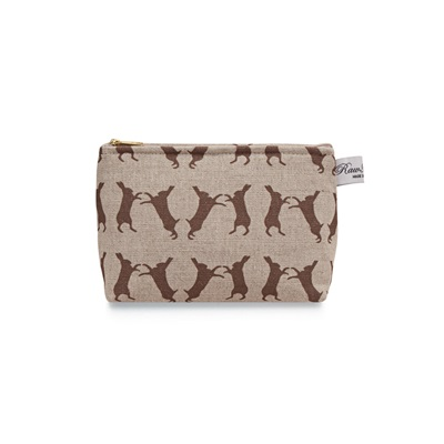 BOXING HARES COSMETIC BAG by Raw Xclusive