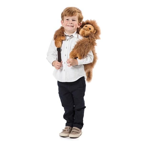 Kids Plush Monkey Orangutan Animal Backpack