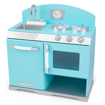 KIDS RETRO STOVE in Blue