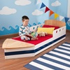 Toddler Bed in Boat Design