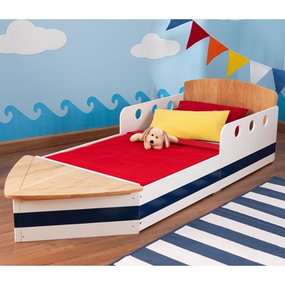 BOAT TODDLER BED for Boys & Girls
