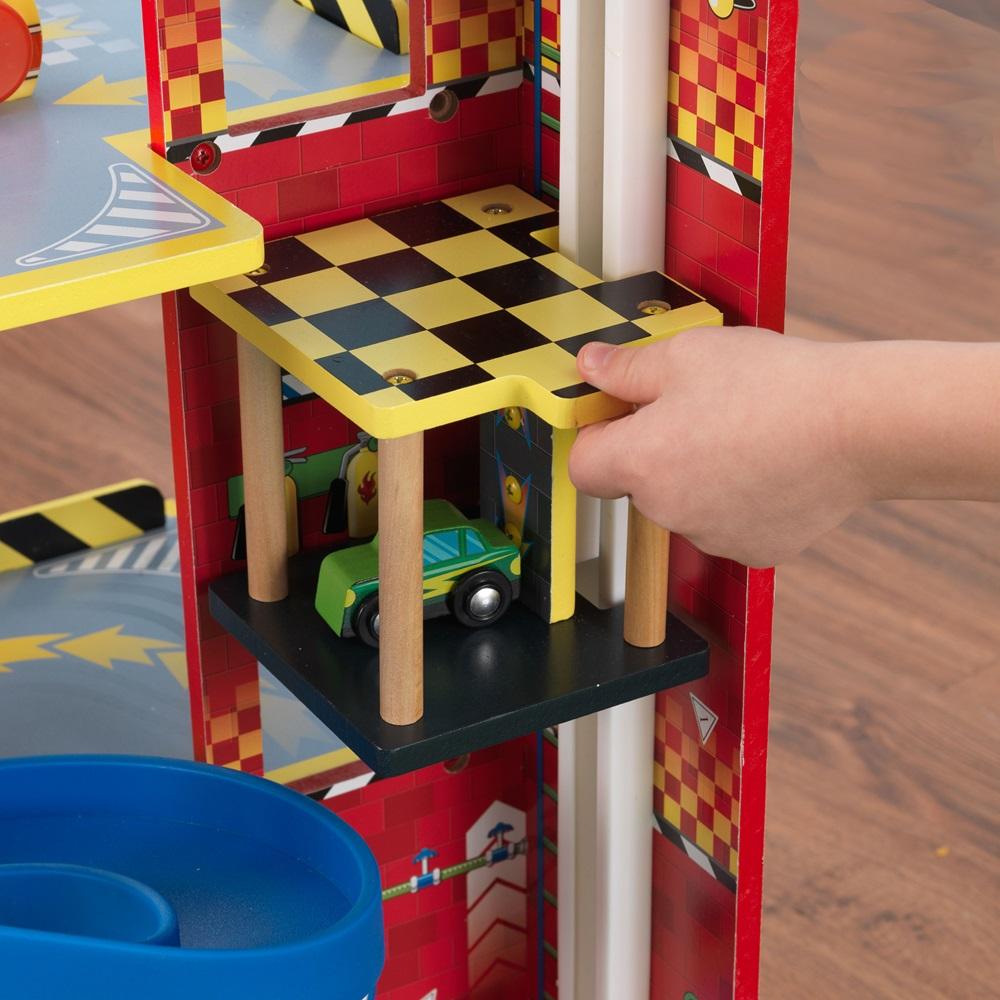 Toy Garages For Boys : Mega ramp racing set toys cuckooland