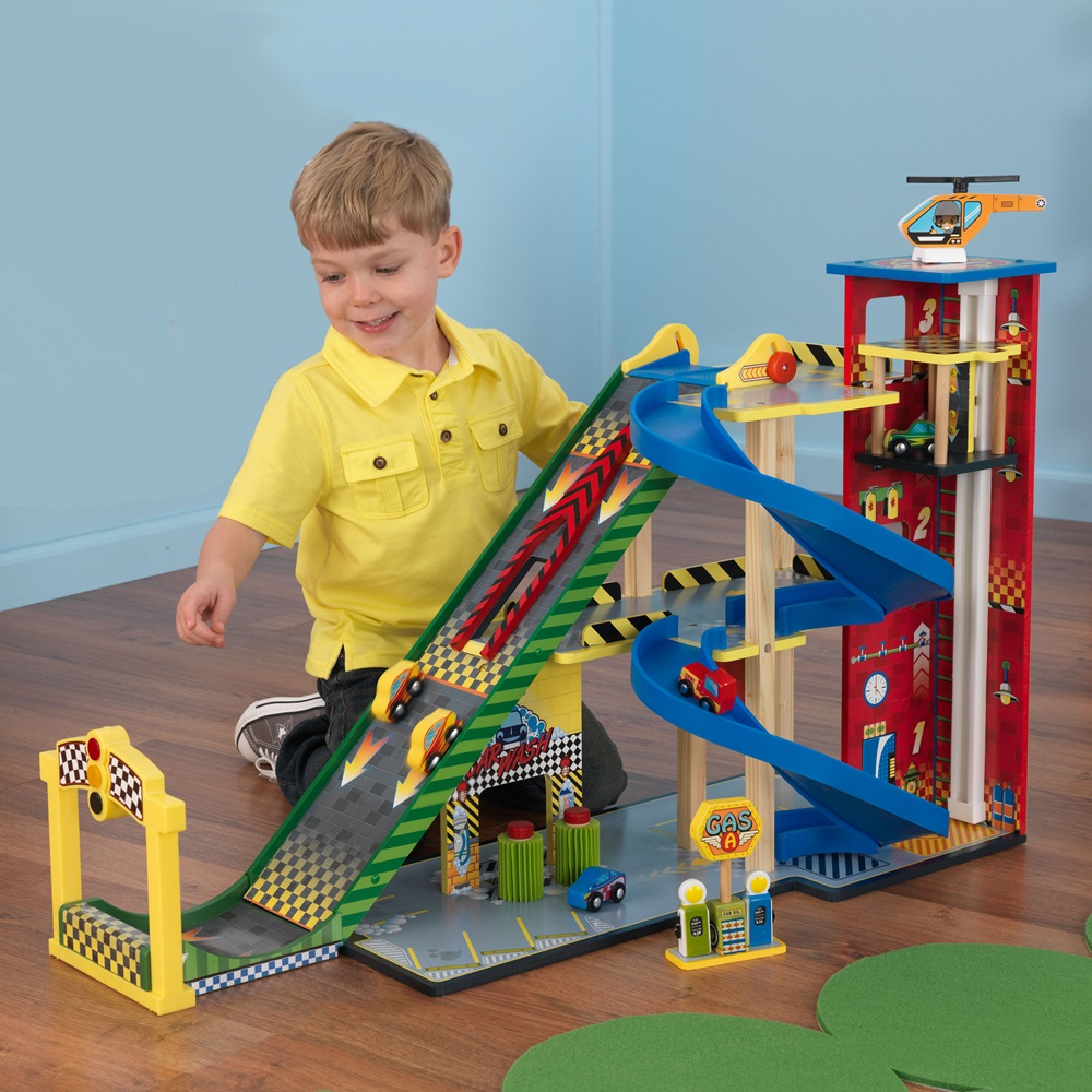 Product Toys For Boys : Mega ramp racing set kid kraft cuckooland