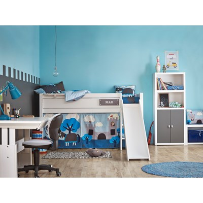 childrens beds with slides. Boys-Knight-Cabin-Bed-With-Slide-L.jpg Childrens Beds With Slides
