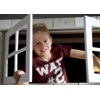 Fun Childrens Cabin Bed Window