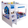 Kids Flick storage bunk bed with reversible ladder