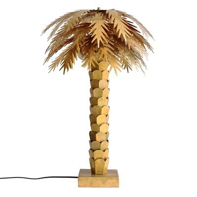 Brass Palm Tree Table Lamp Lamps Cuckooland