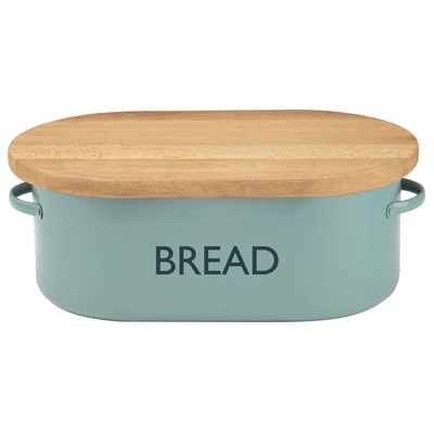 TYPHOON VINTAGE BREAD BIN in Summer House Blue