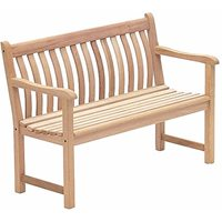 MAHOGANY BROADFIELD 4FT BENCH by Alexander Rose