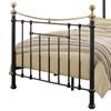 Traditional Black Steel Bed Frame