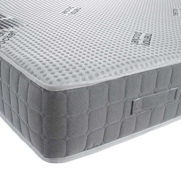 90 x 190cm Bronze 1000 Pocket Memory Foam Single Mattress
