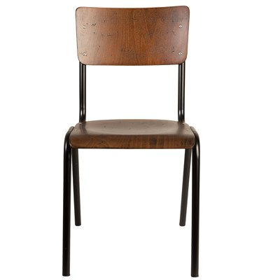 school chair. Delighful Chair BrownDiningChairjpg  Intended School Chair