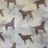Labrador Print Cashmere Scarf