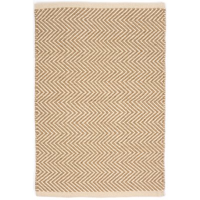Indoor Outdoor Arlington Rug in Camel Ivory