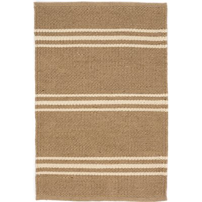 INDOOR OUTDOOR LEXINGTON RUG in Camel Ivory
