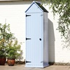 Unique Brighton Garden Shed in Blue