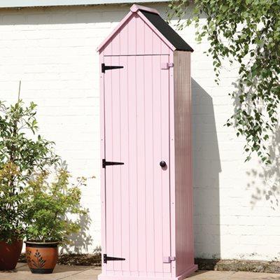 BRIGHTON GARDEN SHED in Pastel Pink