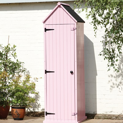 BRIGHTON GARDEN SHED in Pastel Pink