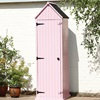 Brighten Garden Shed in Pink