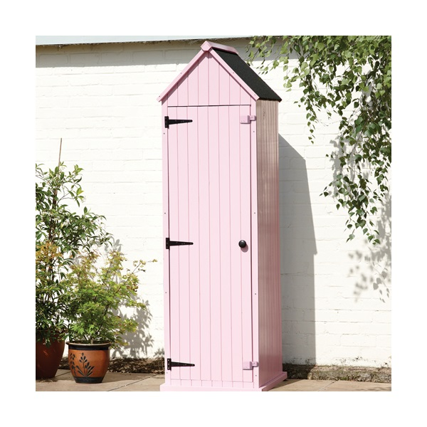 Brighton garden shed in pastel pink garden sheds for Garden shed gin
