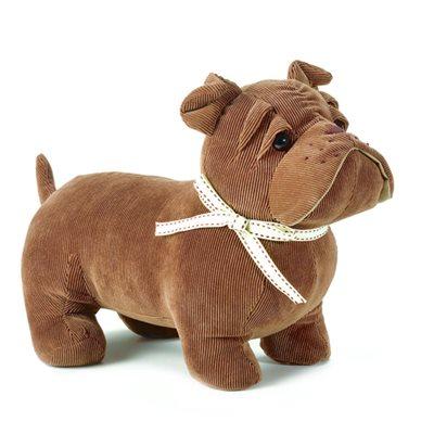 BRUNO THE BULLDOG Dog Animal Doorstop by Dora Designs