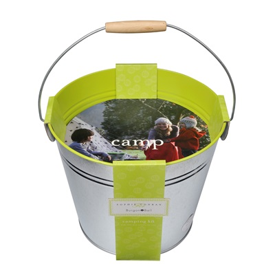 BUCKET OF FUN CAMPING KIT by Sophie Conran
