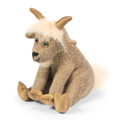 BUDDY GOAT JUNIOR Animal Paperweight by Dora Designs