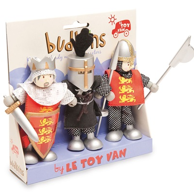 LE TOY VAN BUDKINS CRUSADERS GIFT PACK