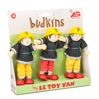 Le Toy Van Budkins Fire Fighters Gift Pack