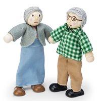 Le Toy Van Grandparents Dolls House Figures Set