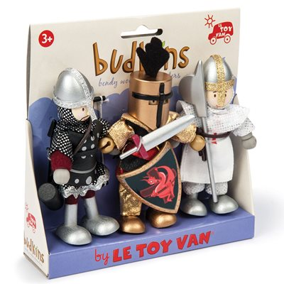 LE TOY VAN BUDKINS KNIGHTS GIFT PACK